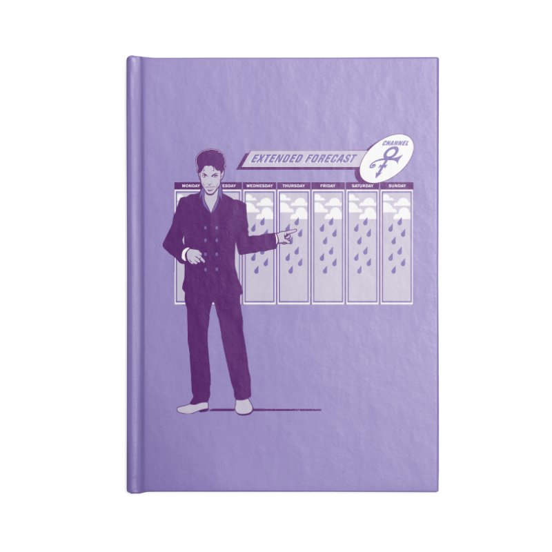 Extended Forecast Accessories Notebook by Tom Burns