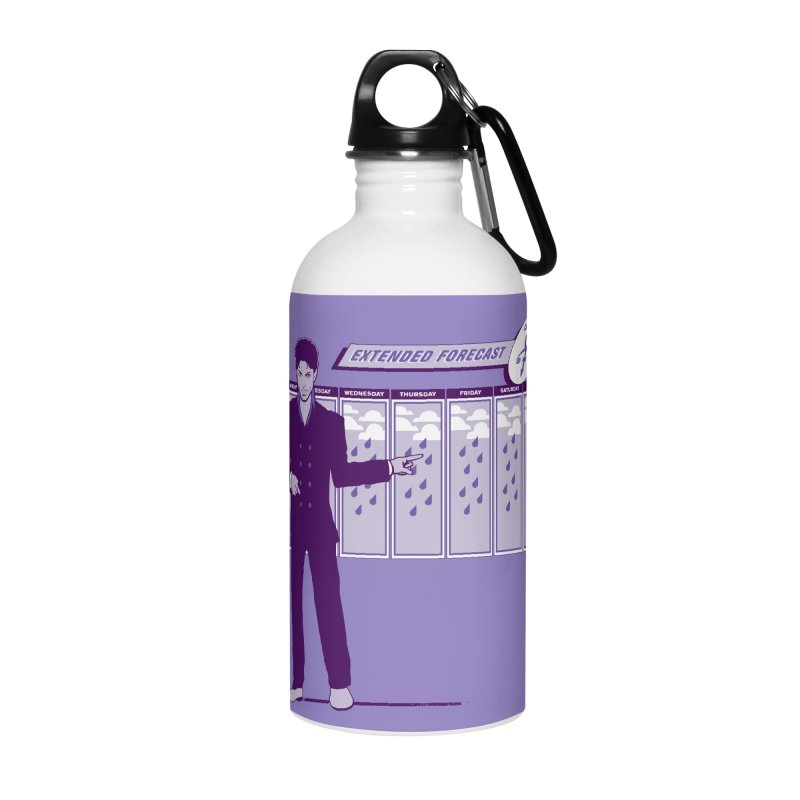 Extended Forecast Accessories Water Bottle by Tom Burns