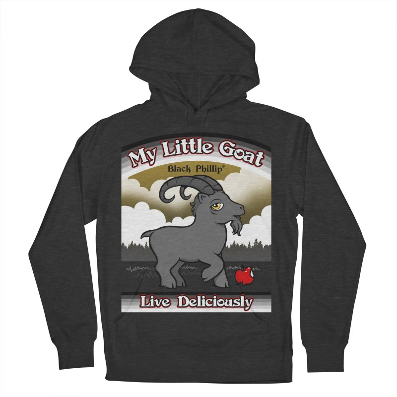 My Little Goat Men's French Terry Pullover Hoody by Tom Burns