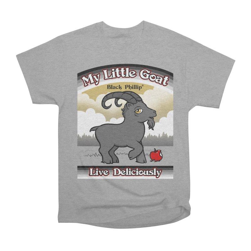 My Little Goat Women's Heavyweight Unisex T-Shirt by Tom Burns