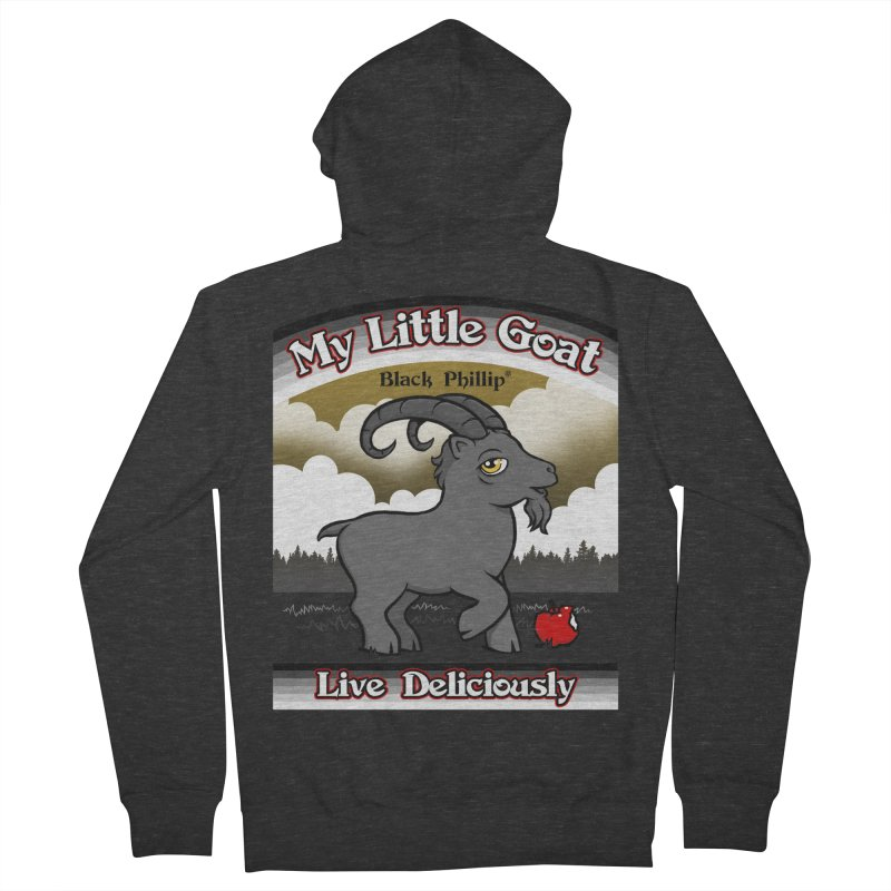 My Little Goat Men's French Terry Zip-Up Hoody by Tom Burns