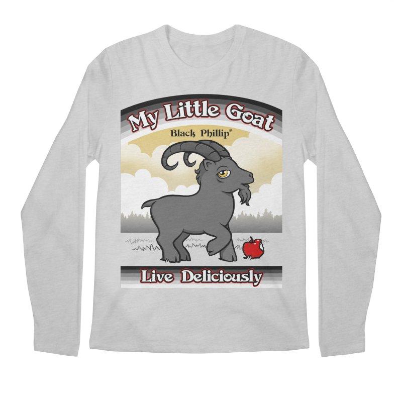 My Little Goat Men's Regular Longsleeve T-Shirt by Tom Burns
