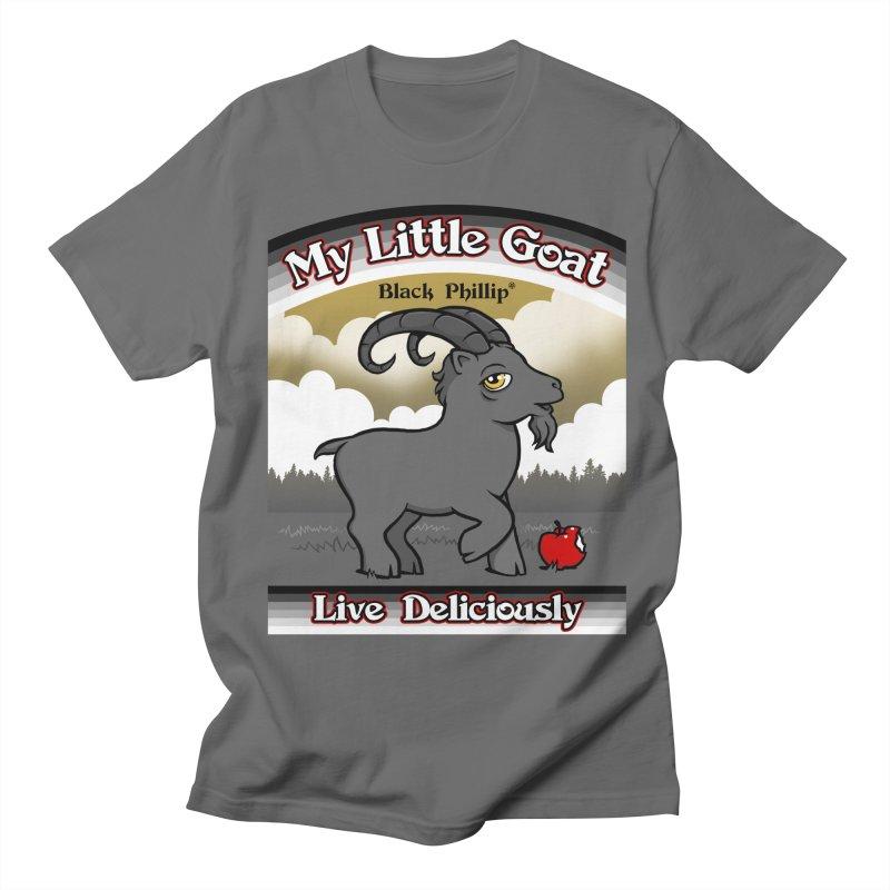 My Little Goat Women's Regular Unisex T-Shirt by Tom Burns