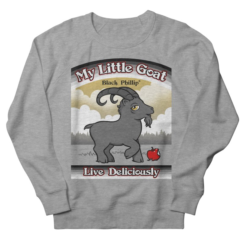 My Little Goat Women's French Terry Sweatshirt by Tom Burns