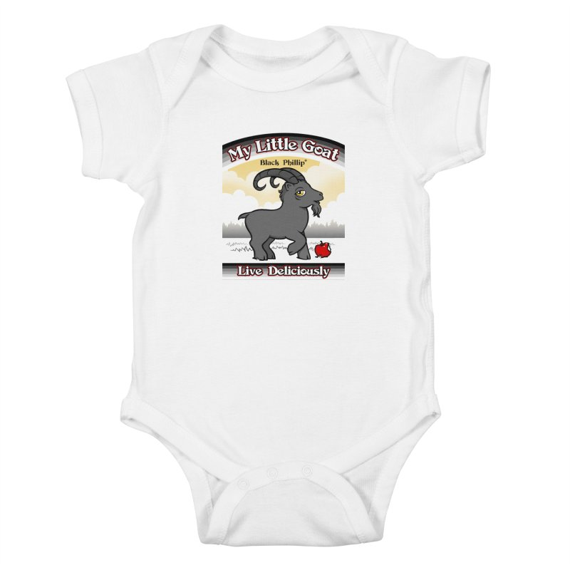 My Little Goat Kids Baby Bodysuit by Tom Burns