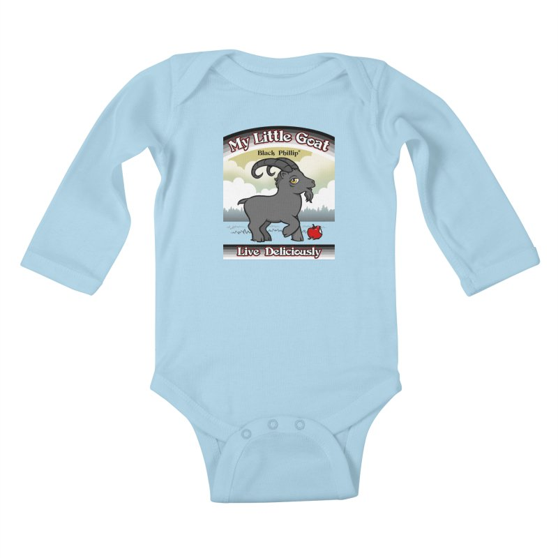 My Little Goat Kids Baby Longsleeve Bodysuit by Tom Burns