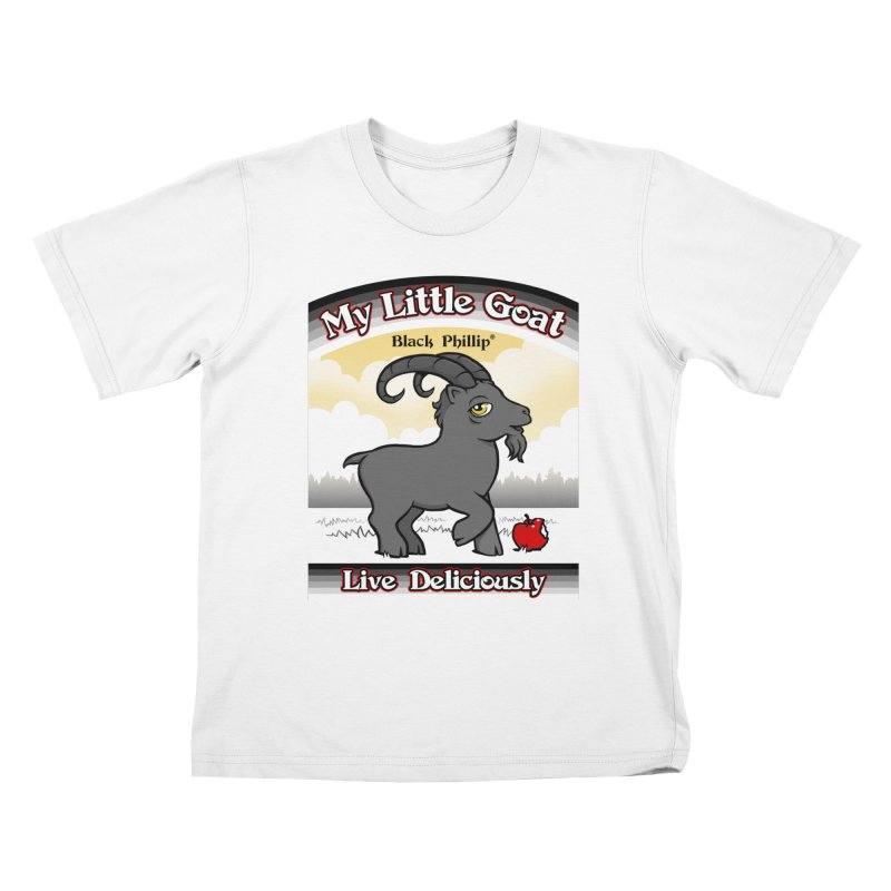 My Little Goat Kids T-Shirt by Tom Burns