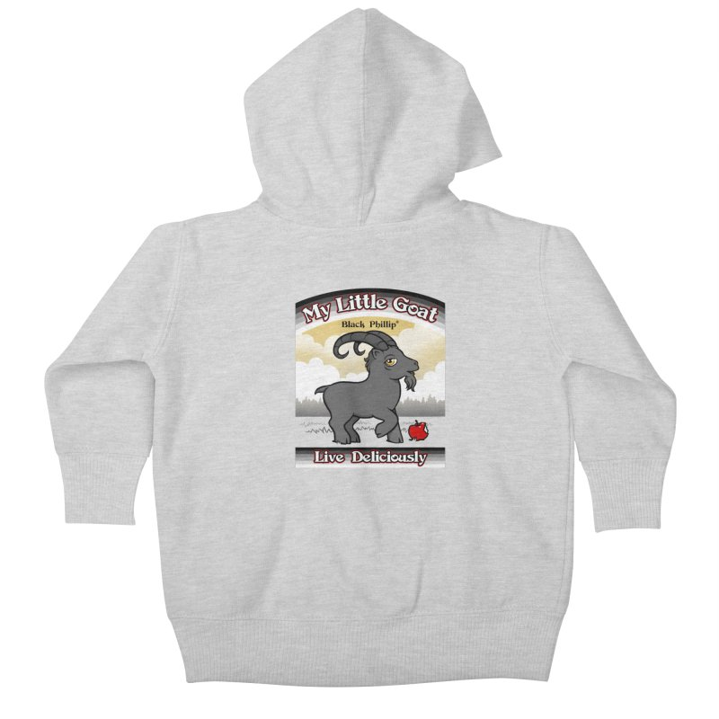 My Little Goat Kids Baby Zip-Up Hoody by Tom Burns