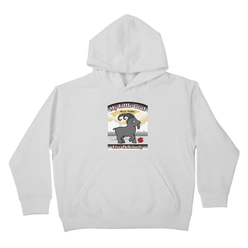 My Little Goat Kids Pullover Hoody by Tom Burns