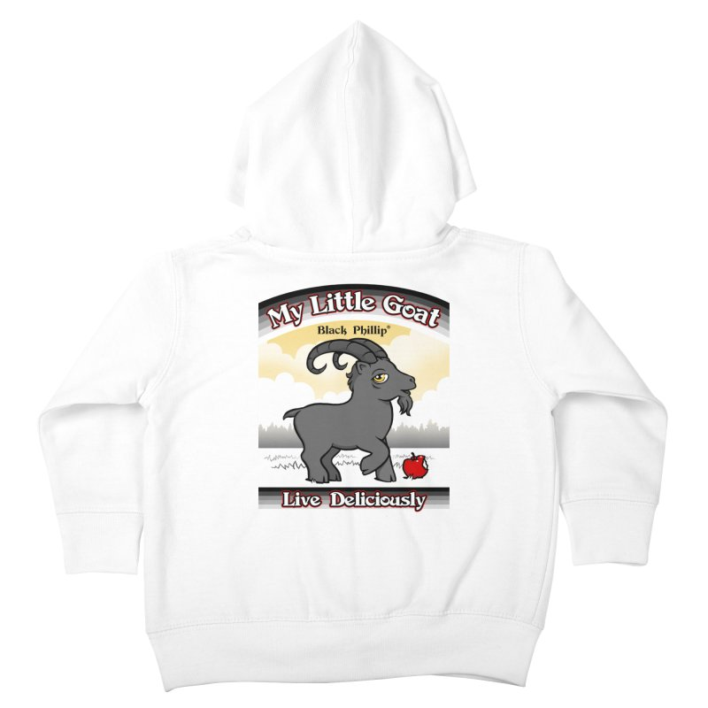 My Little Goat Kids Toddler Zip-Up Hoody by Tom Burns
