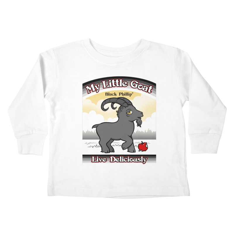 My Little Goat Kids Toddler Longsleeve T-Shirt by Tom Burns
