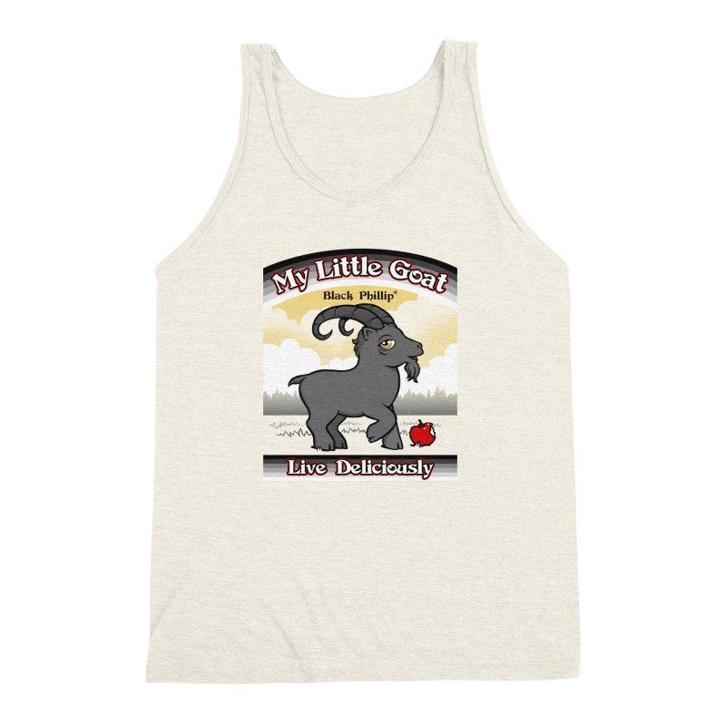 My Little Goat Men's Triblend Tank by Tom Burns