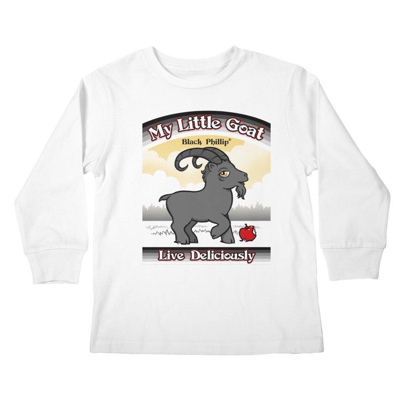 My Little Goat Kids Longsleeve T-Shirt by Tom Burns