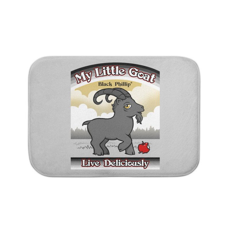 My Little Goat Home Bath Mat by Tom Burns