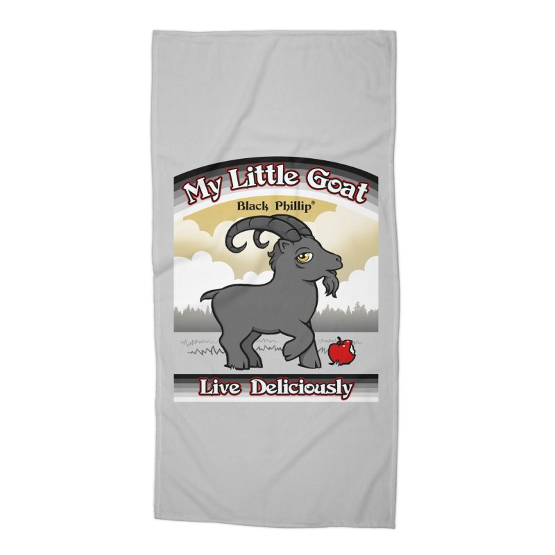 My Little Goat Accessories Beach Towel by Tom Burns