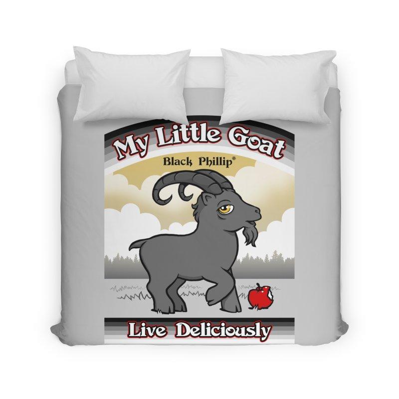 My Little Goat Home Duvet by Tom Burns