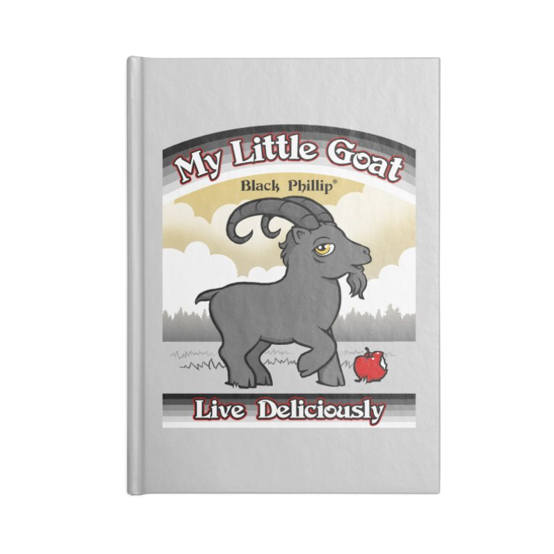 My Little Goat Accessories Notebook by Tom Burns