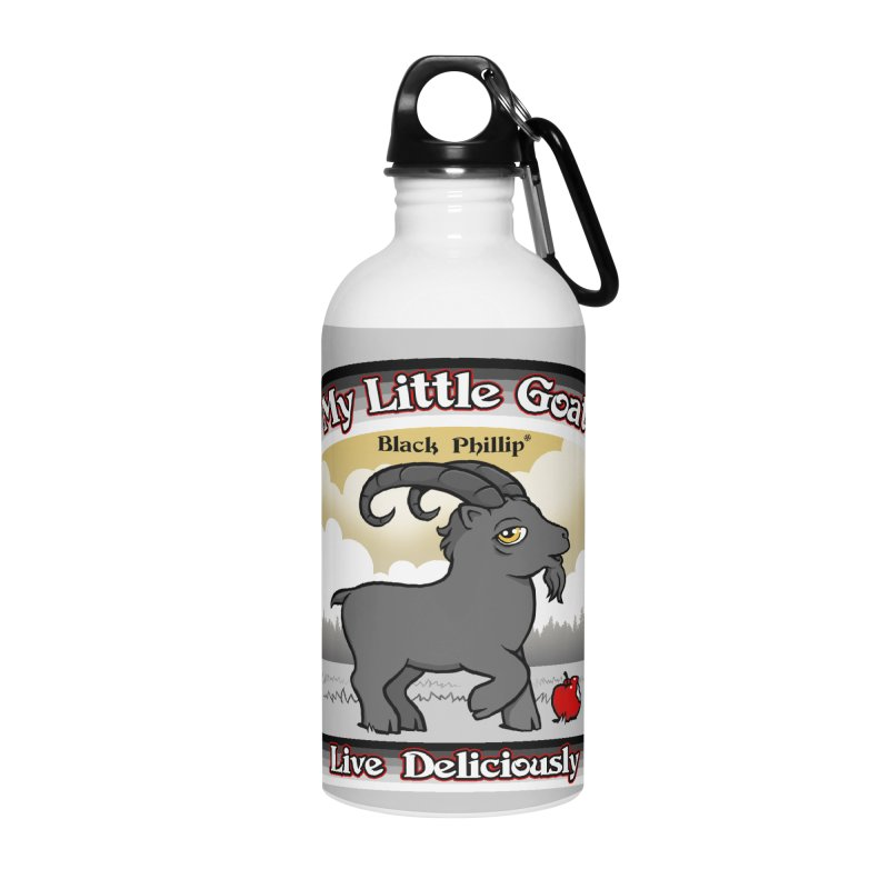 My Little Goat Accessories Water Bottle by Tom Burns