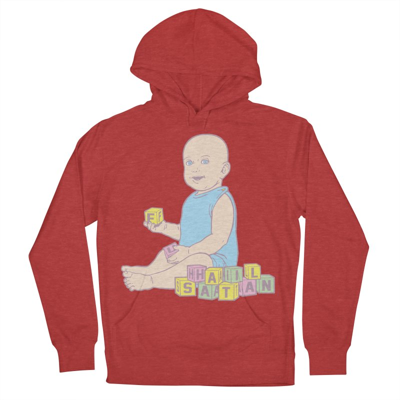 Adorable Antichrist Women's French Terry Pullover Hoody by Tom Burns