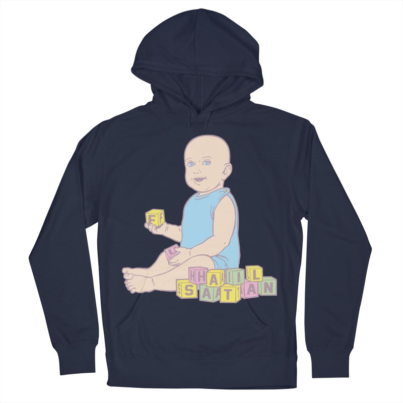 Adorable Antichrist Men's French Terry Pullover Hoody by Tom Burns