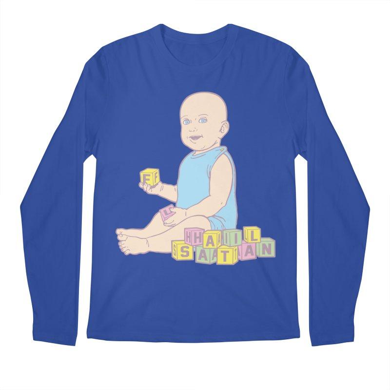 Adorable Antichrist Men's Regular Longsleeve T-Shirt by Tom Burns