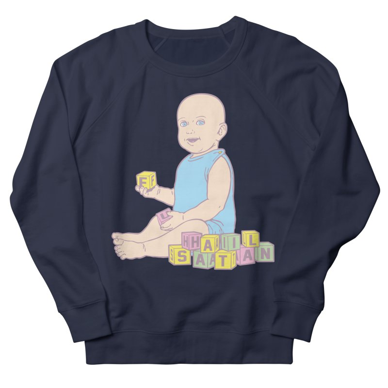 Adorable Antichrist Women's French Terry Sweatshirt by Tom Burns