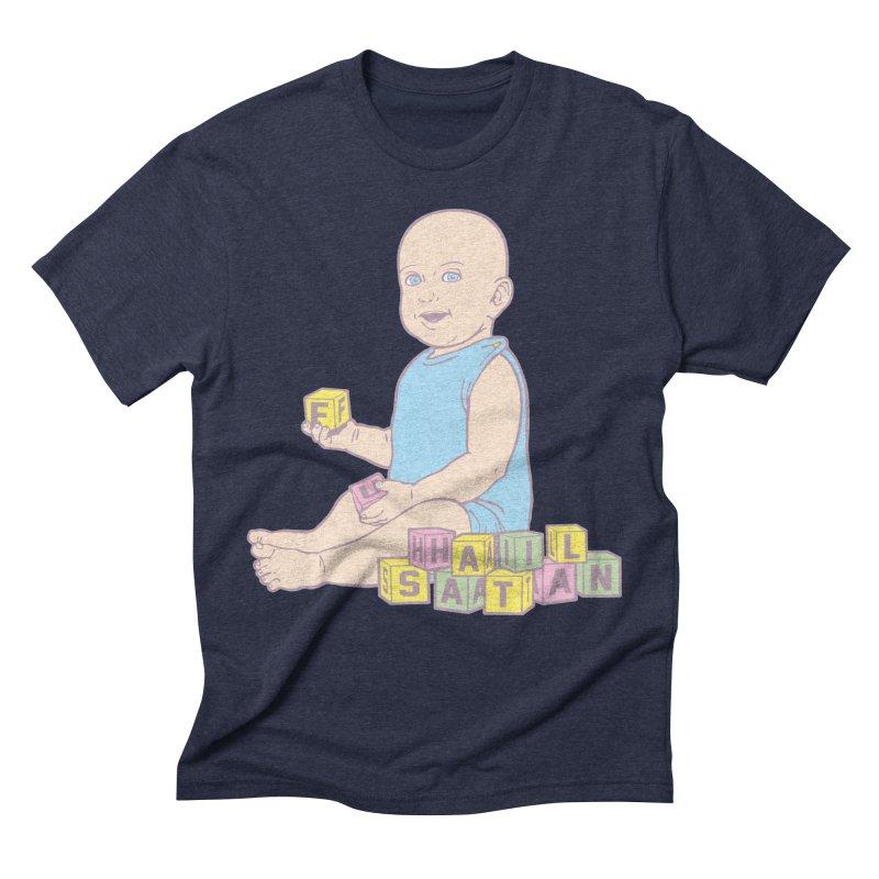 Adorable Antichrist Men's Triblend T-Shirt by Tom Burns