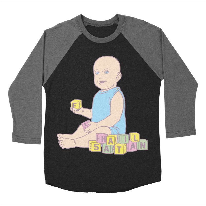 Adorable Antichrist Women's Baseball Triblend T-Shirt by Tom Burns