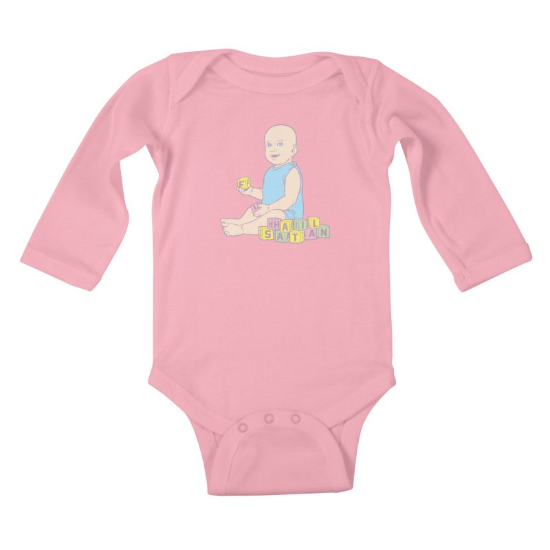 Adorable Antichrist Kids Baby Longsleeve Bodysuit by Tom Burns