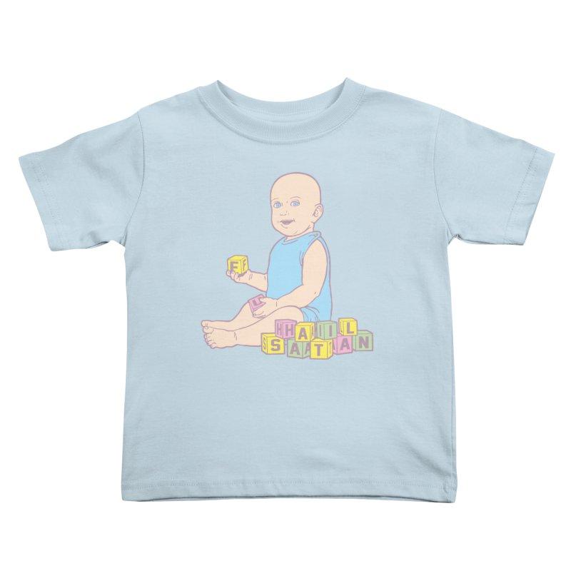 Adorable Antichrist Kids Toddler T-Shirt by Tom Burns