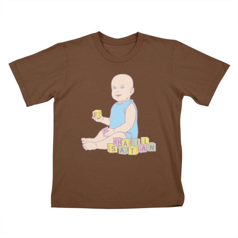 Adorable Antichrist Kids T-Shirt by Tom Burns