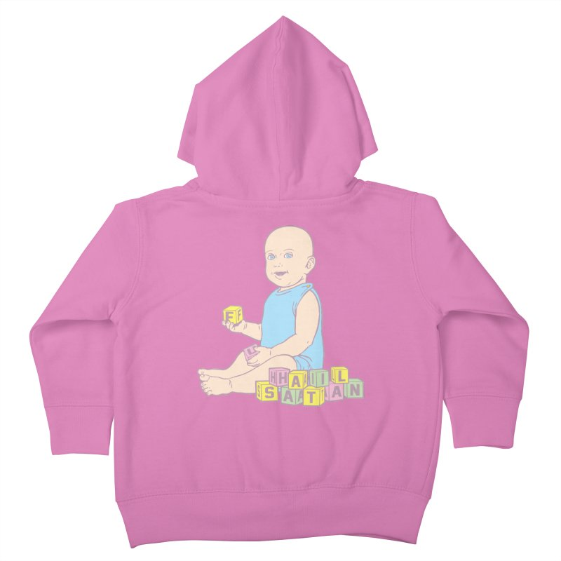 Adorable Antichrist Kids Toddler Zip-Up Hoody by Tom Burns