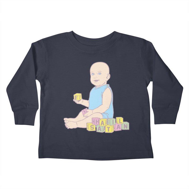 Adorable Antichrist Kids Toddler Longsleeve T-Shirt by Tom Burns