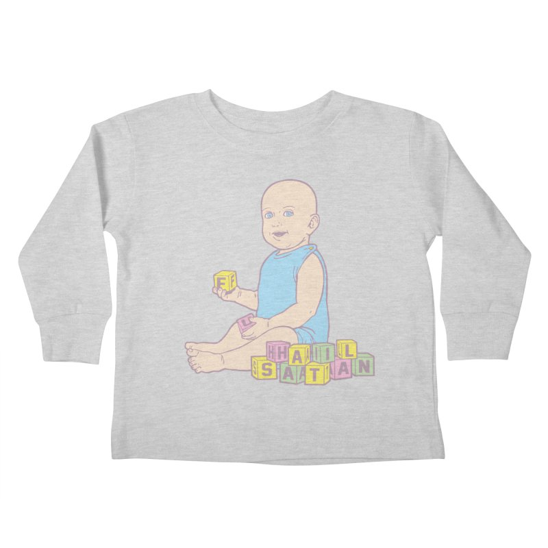 Adorable Antichrist Kids Toddler Longsleeve T-Shirt by Tom Burns