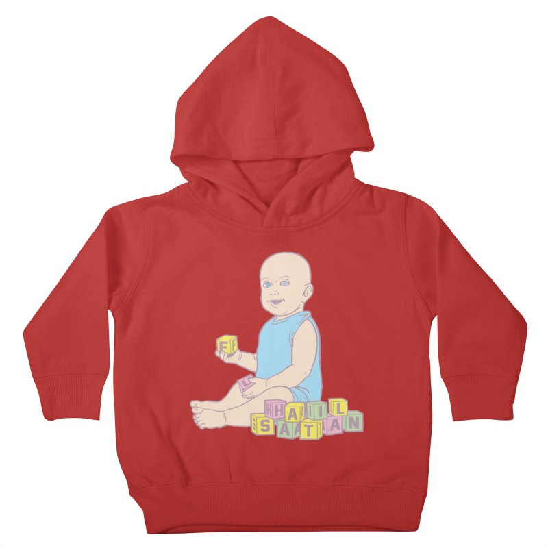 Adorable Antichrist Kids Toddler Pullover Hoody by Tom Burns