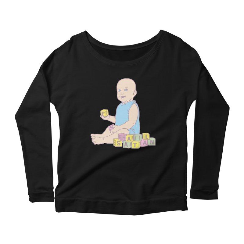 Adorable Antichrist Women's Scoop Neck Longsleeve T-Shirt by Tom Burns