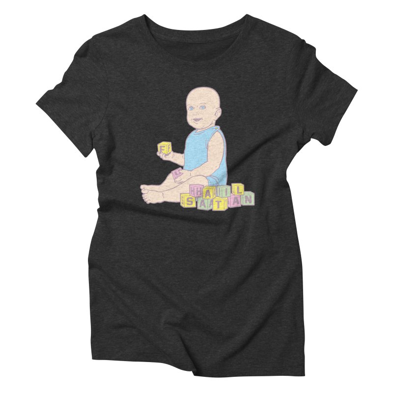 Adorable Antichrist Women's Triblend T-Shirt by Tom Burns