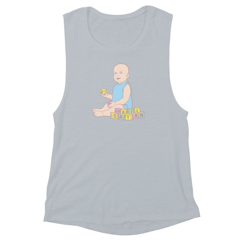 Adorable Antichrist Women's Muscle Tank by Tom Burns