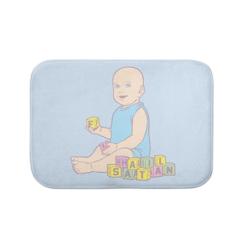 Adorable Antichrist Home Bath Mat by Tom Burns