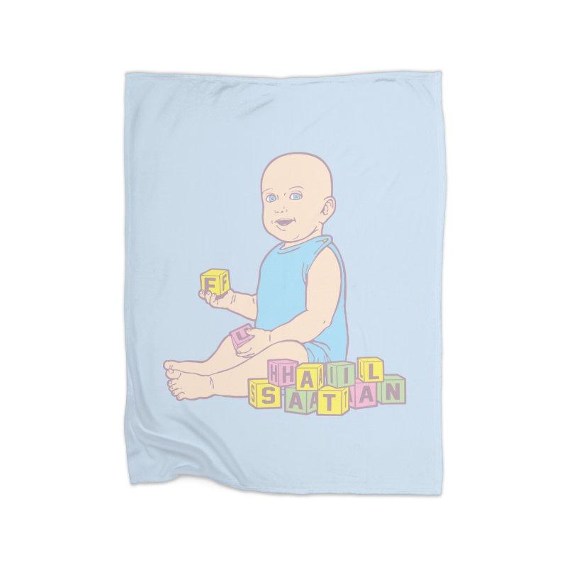 Adorable Antichrist Home Fleece Blanket by Tom Burns