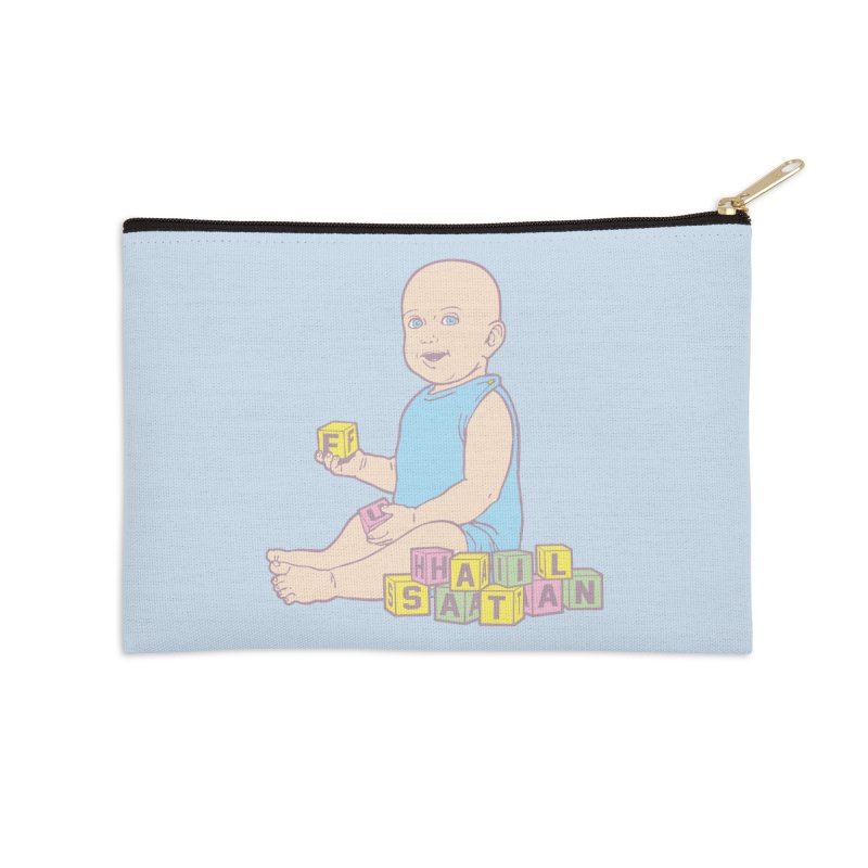 Adorable Antichrist Accessories Zip Pouch by Tom Burns