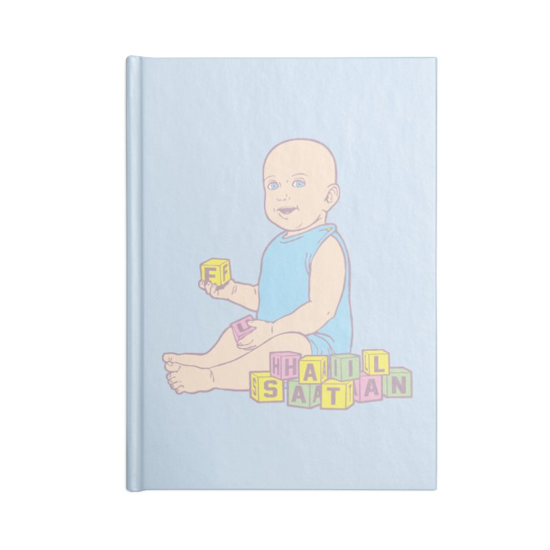 Adorable Antichrist Accessories Notebook by Tom Burns