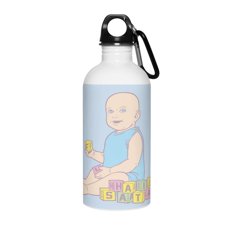Adorable Antichrist Accessories Water Bottle by Tom Burns