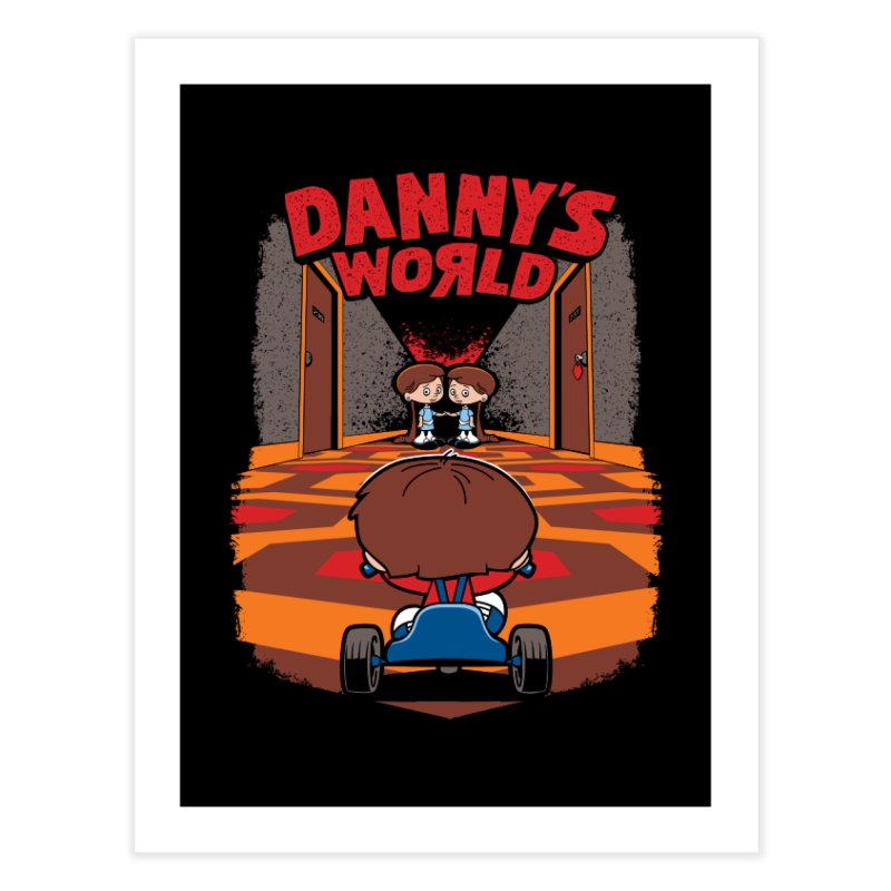 Danny's World Home Fine Art Print by Tom Burns