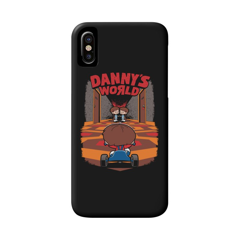 Danny's World Accessories Phone Case by Tom Burns