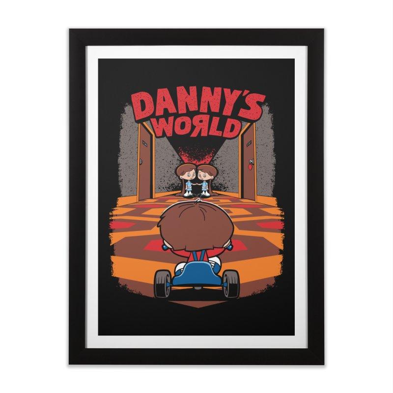 Danny's World Home Framed Fine Art Print by Tom Burns