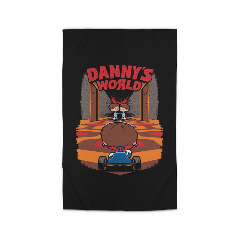 Danny's World Home Rug by Tom Burns
