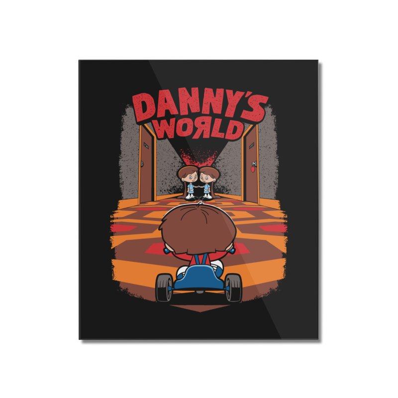 Danny's World Home Mounted Acrylic Print by Tom Burns