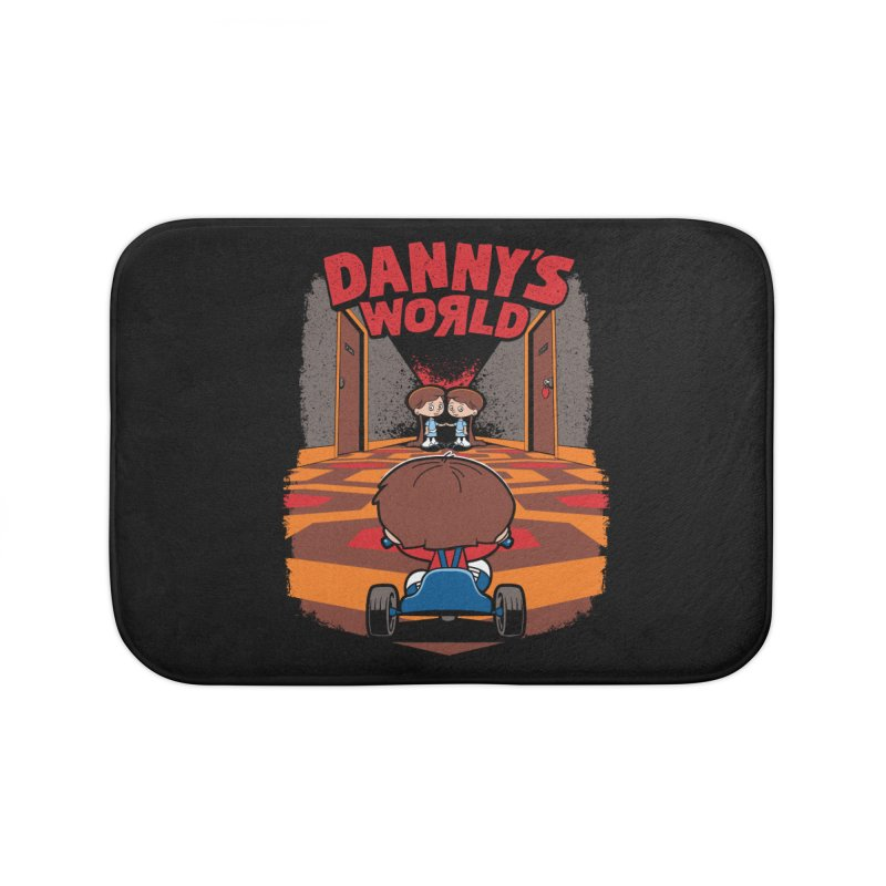 Danny's World Home Bath Mat by Tom Burns
