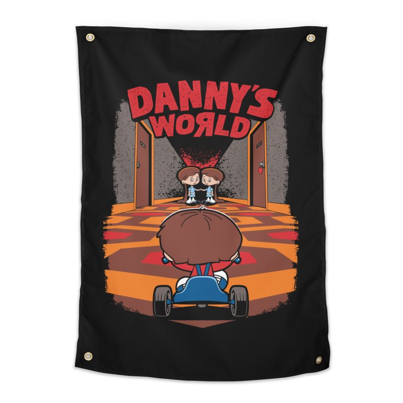 Danny's World Home Tapestry by Tom Burns